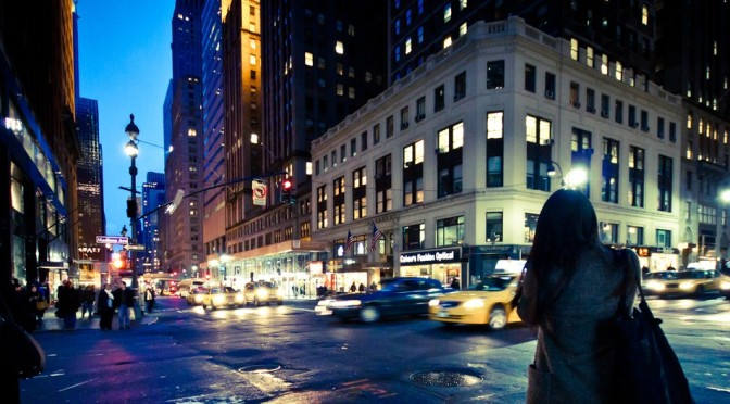 NYC Crossroads by Christian Schuster