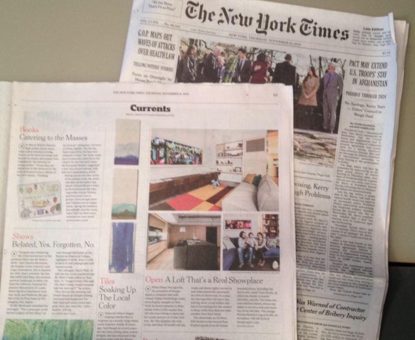 cartaceo NYT tagliato