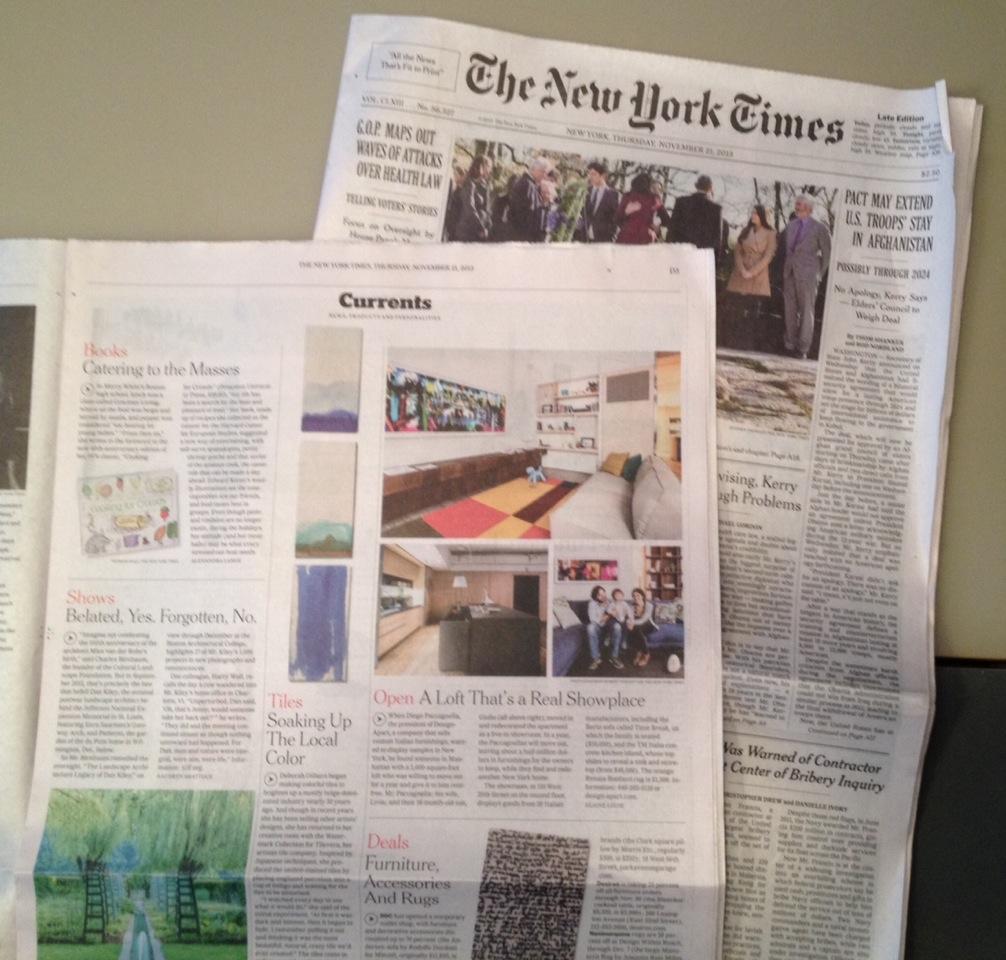 cartaceo del NYT