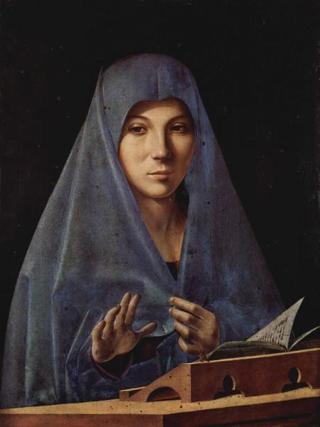 Antonello da Messina - L'Annunziata