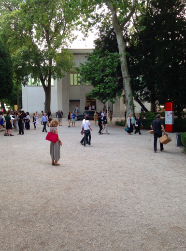 The opening of the German Pavillion @ the Venice Biennale Architecture 2014