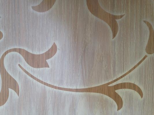 Tatuaggio su legno, by ermes ponti