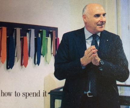 Maurizio Marinella - Ermes Ponti blog