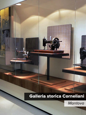 ermesponti bespoke interiors per Corneliani (Mantova)