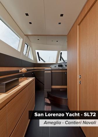 ermesponti bespoke interiors per Sanlorenzo Yachts