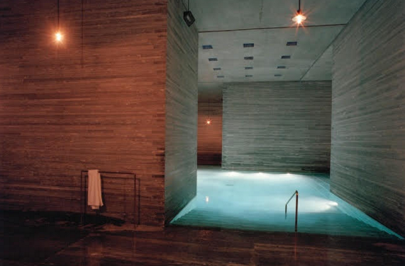 peter zumthor work: therme vals